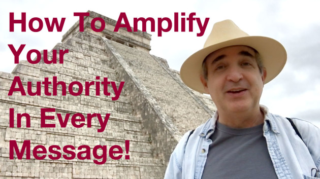 How to Amplify Your Online Authority – Clue #1 – Chichun-itza