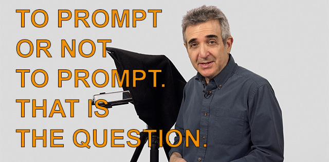 To prompt or not to prompt. That is the question!